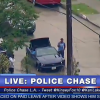 Mustang Chase Through Los Angeles