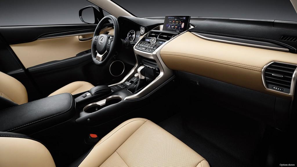 2015-Lexus-NX-200t-interior-creme-leather-trim-overlay-1204x677