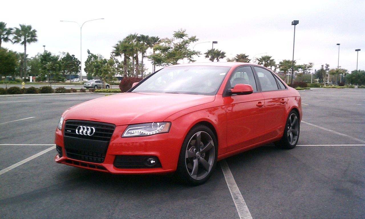 Road Test 2011 Audi A4 Quot The Red Baron Quot The Ignition Blog