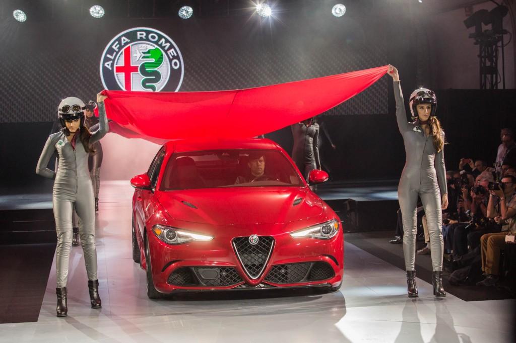 Alfa Romeo Giulia LA Auto Show Debut 001