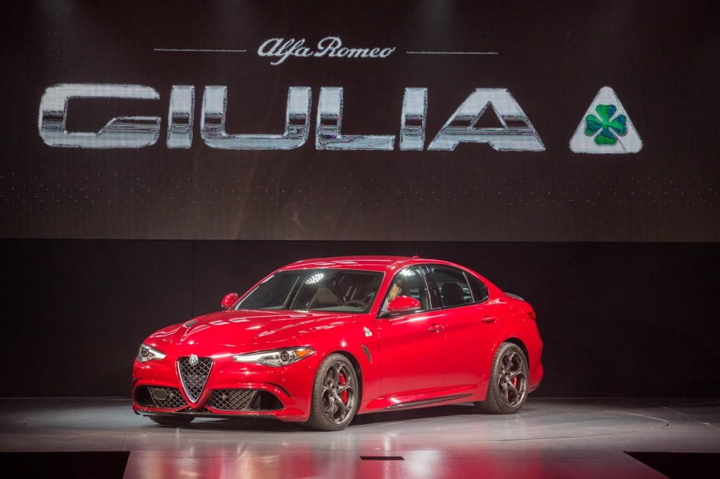 Alfa Romeo Giulia LA Auto Show Debut 003