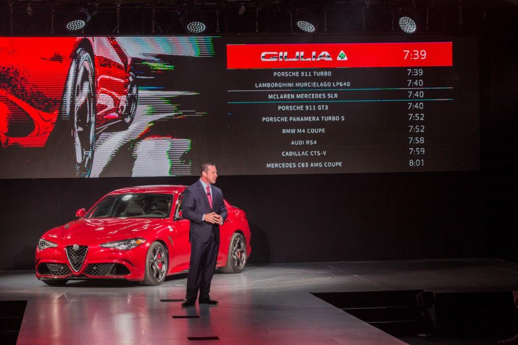Alfa Romeo Giulia LA Auto Show Debut 005