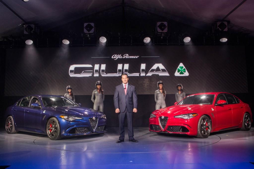 Alfa Romeo Giulia LA Auto Show Debut 004