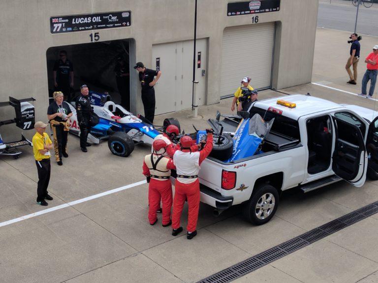 Indianapolis-Motor-Speedway-Jay-Howard-Crash-Dixon