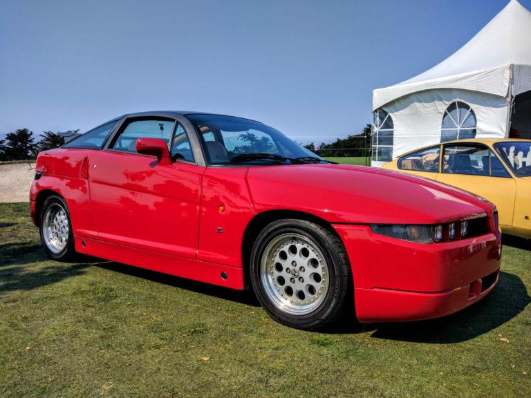 Alfa Romeo SZ Concorso Italiano 001