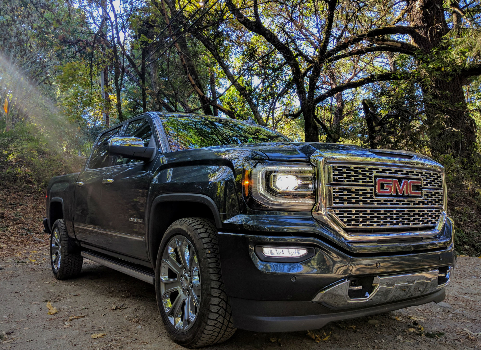 2018 Gmc Sierra Denali Review Exploring The Redwoods The Ignition Blog