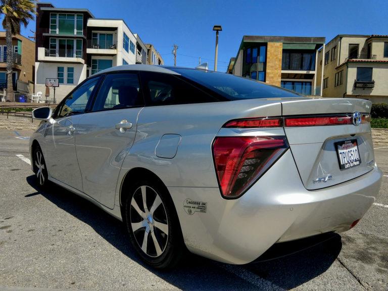 2018 Toyota Mirai Hydrogen Fuel Cell 002