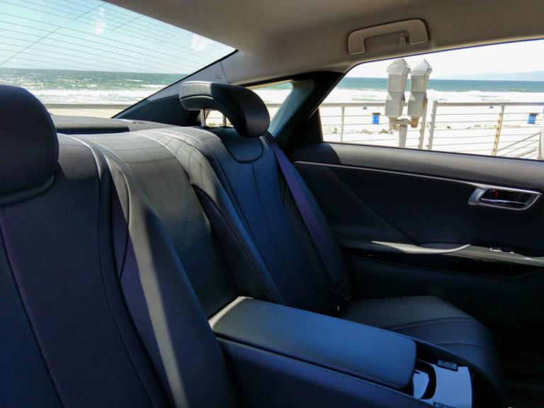 2018 Toyota Mirai Hydrogen Fuel Cell Interior 004