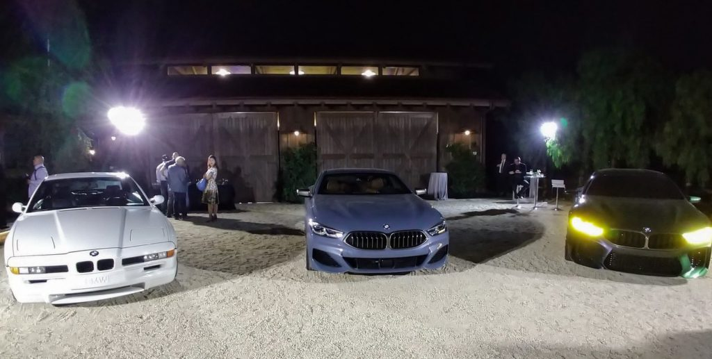 2019 BMW 8 Series Monterey Car Week 001