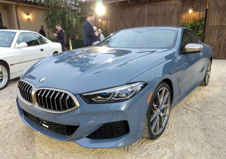 2019 BMW 8 Series Monterey Car Week 002
