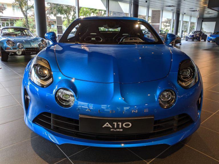 Paris Alpine A110 Boutique 0016