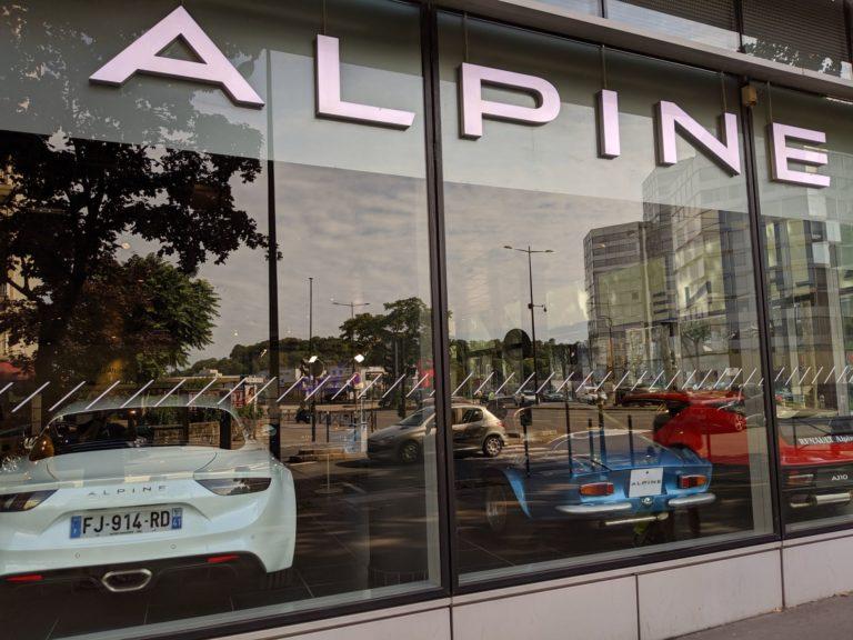 Paris Alpine A110 Boutique 002