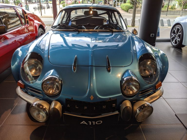 Paris Alpine A110 Boutique 004