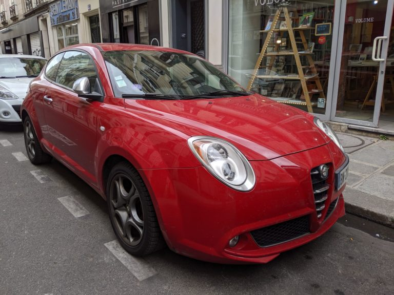 Paris Cars Alfa Romeo MiTo