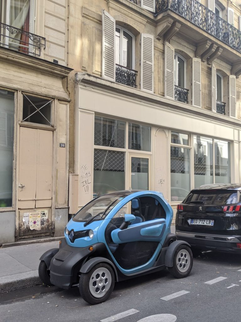 Paris Cars Renault Twizy